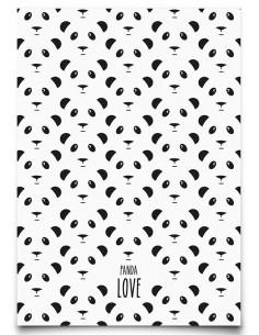 carte-postale-panda-love-noir-et-blanc-eef-lillemor