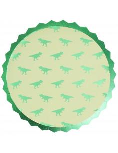 8-grandes-assiettes-dinosaures-verts-decoration-anniversaire-dinosaures