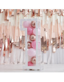 Cadre Forme Chiffre pour Ballons Ballons Roses