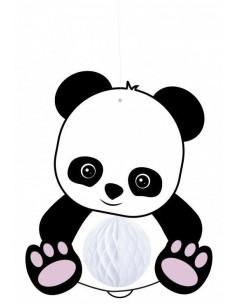 suspension-panda-avec-boule-alveolee-deco-baby-shower-bapteme-anniversaire-panda