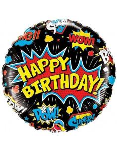ballon-super-heros-happy-birthday-noir-en-aluminium-decoration-anniversaire-super-heros
