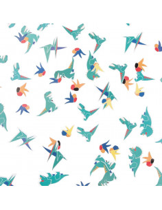 Confettis de table dinosaures my little day