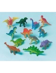 12 figurines dinosaures